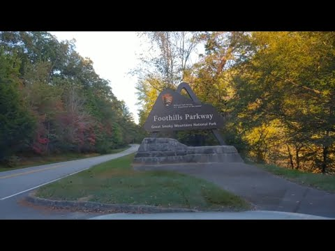A Drive on the Foothills Parkway - Great Smoky Mountains National Park