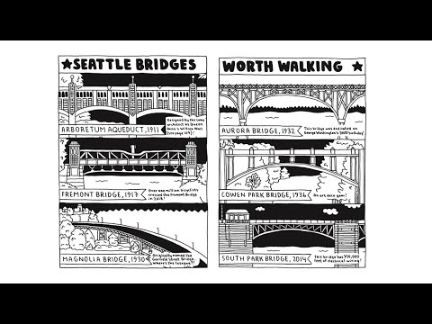 The artist behind the Seattle Walk Report – New Day