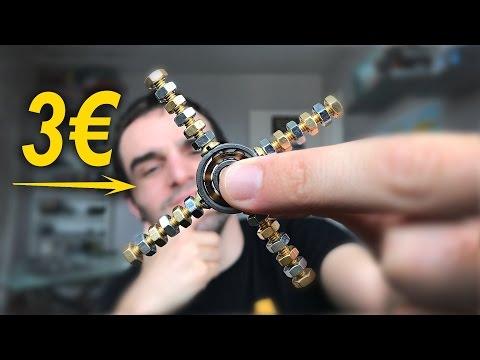 FABRIQUER UN HAND SPINNER POUR 3€ !