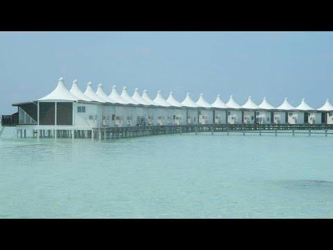 water Villa in the Maldives at hakuraa huraa island
