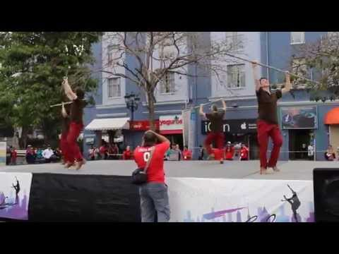 Arrows International Men Dance At Project Dance, Costa Rica