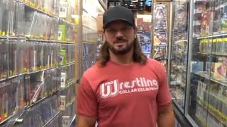 AJ Styles gets lost in New York Video Games: SummerSlam Diary