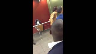 KNOCKOUT IN UK MCDONALDS FIGHT