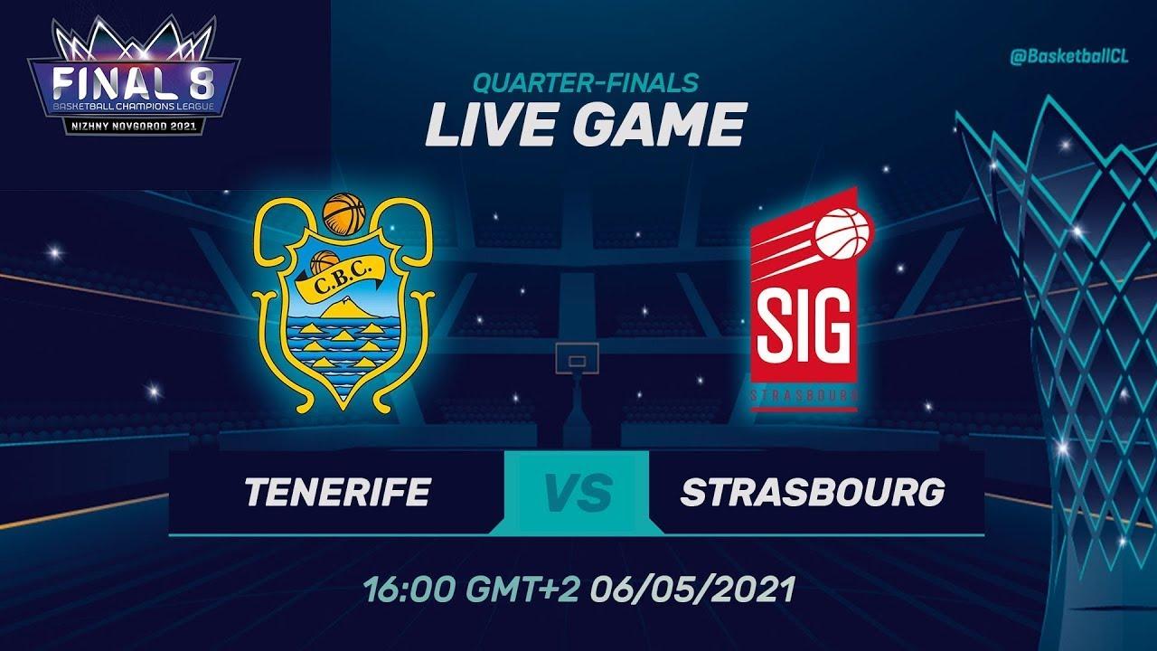 Lenovo Tenerife v SIG Strasbourg - Full Game