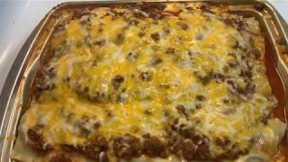 Home made Lasagna with Cottage Cheese