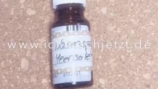 Nasenspray selber machen (Meersalz) - Geld sparen - Anleitung - Zeitraffer DIY