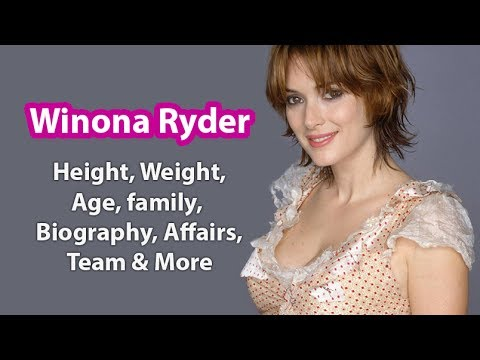Winona Ryder Bra Size, Age, Weight, Height, Measurements ...
