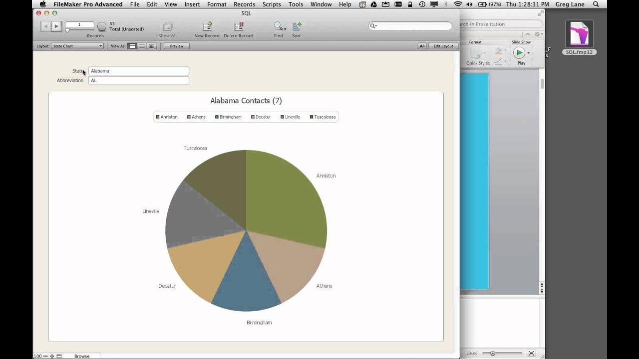 FileMaker 12 - ExecutesSQL Function - 12 Days of FileMaker 12 Series