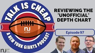 Reviewing the Giants' 'unofficial' depth chart thumbnail