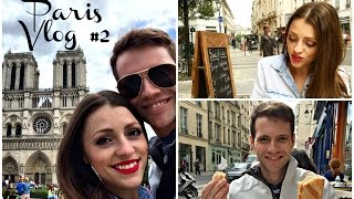 Walking the Streets of Paris & Notre Dame Cathedral(Vlog two on my honeymoon trip to Paris, France in 2015 with my new wife Jessica (JAMbeauty89) as we vlog through the streets of Paris. Vlog #2 includes our ..., 2015-06-24T23:51:57.000Z)