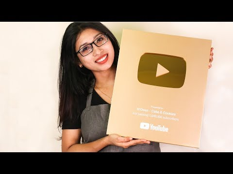 YouTube GOLD BUTTON UNBOXING I 1 MILLON SUBSCRIBERS AWARD I CREATOR AWARDS