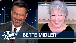 Bette Midler on Getting Vaccinated, Her Vegas Wedding & Johnny Carson Audition