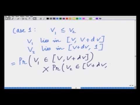 Lecture 43:  Auctions as Bayesian Games- Second Price (Continued)