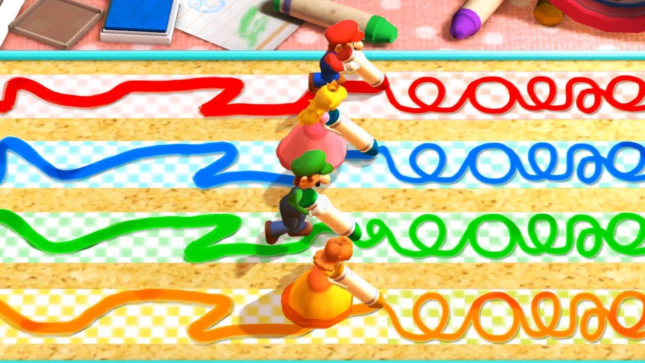 Mario Party The Top 100 MiniGames - Mario Vs Luigi Vs Peach Vs Daisy (Master Difficulty)