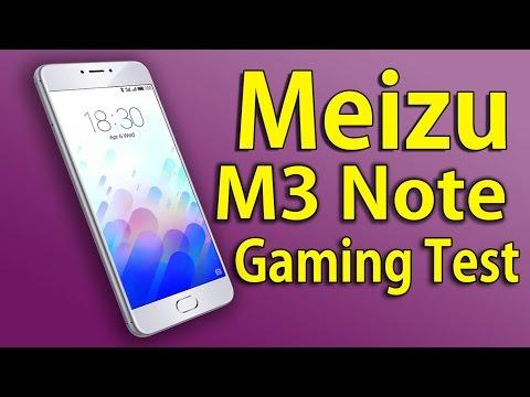 КАК ИДУТ ИГРЫ НА Meizu M3 Note! Gaming Test