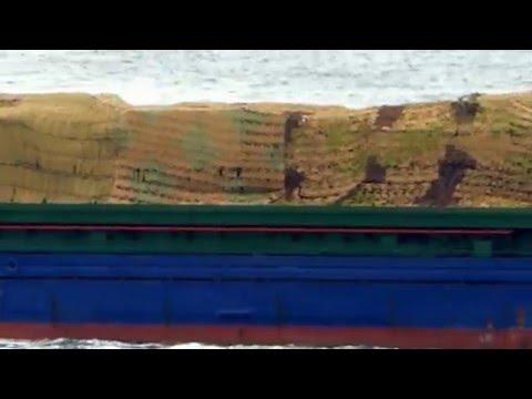 FLOT's Cargo Ship Kazan-60 heading to Syria on the Bosphorus