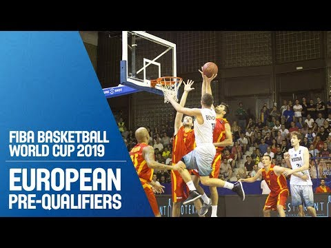 Kosovo v MKD - Full Game - FIBA Basketball World Cup 2019 - European Pre-Qualifiers