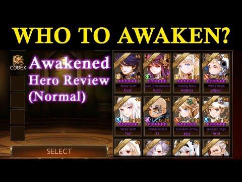 Beginner Guide] Which Normal Hero to Awaken as Priority? : 7kglobal