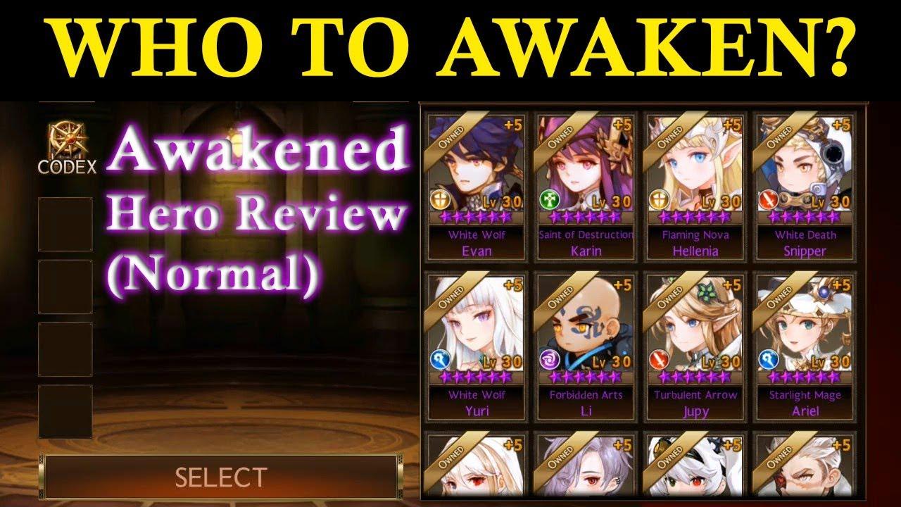 Seven Knights - Awakened Hero Review (Normal Hero)