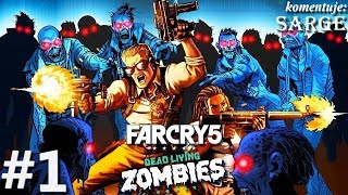 Zagrajmy w Far Cry 5: Dead Living Zombies DLC [PS4 Pro] odc. 1 - Zombie atakują