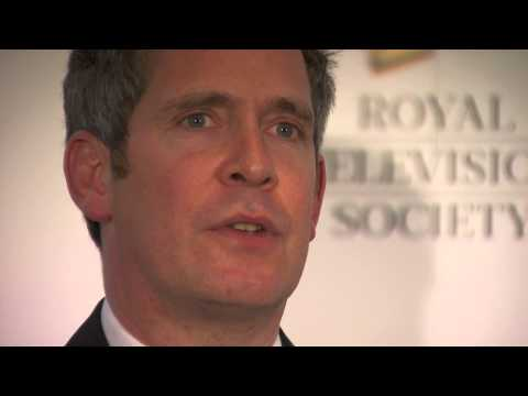 Tom Hollander wins best Actor - Male at the RTS Programme Awards