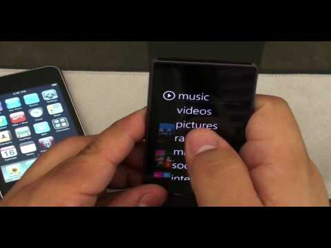 iPod Touch Vs. Zune HD - ( Español) Quien Ganara ??