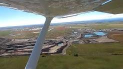 C172 Calgary/Springbank-High River Round-Trip