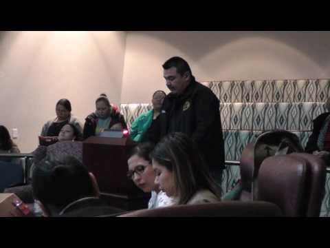 Tsuut'ina Chief and Council Election Forum (Nov.18.2016)