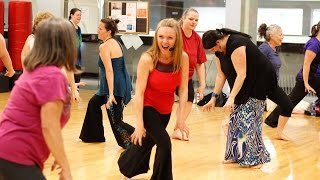 Dance to the 52 moves of Nia to a music mix called SIRENS at Littleton YMCA