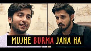 MUJHE BURMA JANA HAI | Karachi Vynz Official | emotional