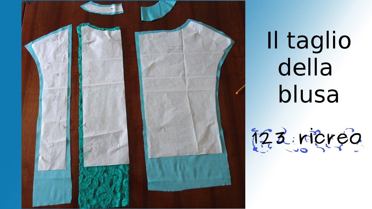 info for 373b7 90790 Il taglio della blusa di pizzo - The cut of the blouse