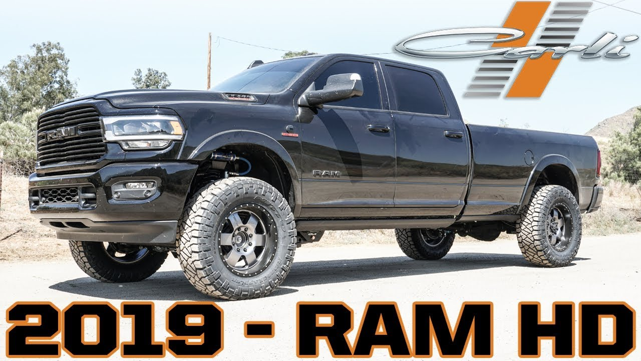 2019 Ram 3500 4×4 Diesel, R&D – Carli Suspension, Inc