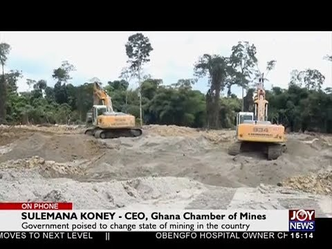 Mining in Ghana - The Pulse on Joy News (30-5-18)