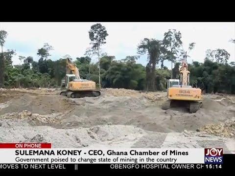 Mining In Ghana - The Pulse On Joy News (30-5-18)
