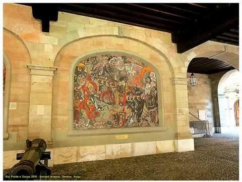 ANCIENT ARSENAL, GENÈVE, SUIÇA