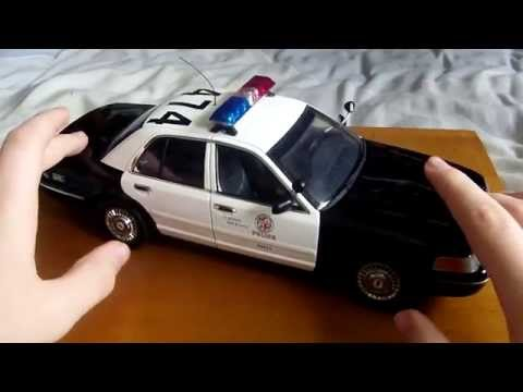1/18 Ford Crown Victoria LAPD Review