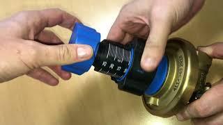 як налаштувати автоматичний балансувальний клапан ASV-PV, Danfoss
