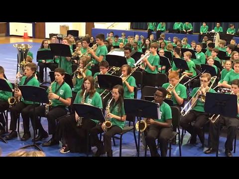 Bossa Madeira - Crabapple Middle School Jazz Band