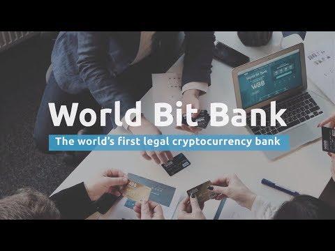 World Bit Bank started ICO   WBB MVP
