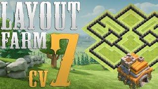 Clash Of Clans - Layout Farm Cv7 Atualizado / New layout Farming Th7!