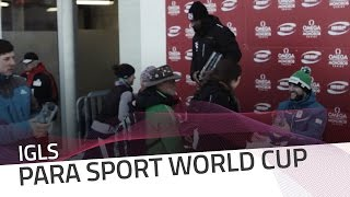 Igls | Mapp closed the season in style | IBSF Para Sport Official