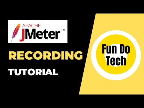 Best Jmeter web application recording Tutorial