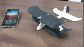 Avión piloteado con iOS o Android   Que buena!!!