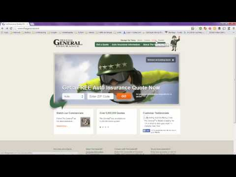 Auto Insurance The General Insurance Company Of America YouTube Magnificent The General Insurance Quotes