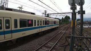 小田急8000形 秦野駅発車
