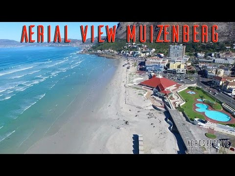 Muizenberg, Cape Town, South Africa, An Aerial View