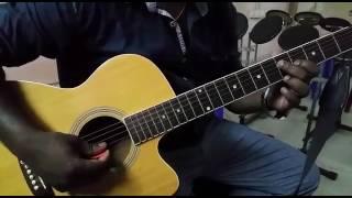 Unnai nan song from jay jay movie on guitar