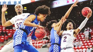 Former Teammates Sharife Cooper \u0026 BJ Boston Meet Up | Raw Highlights Kentucky vs Auburn 1.16.21