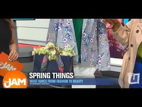 Fashion and Beauty Spring Must Haves