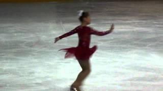 Аксинья на квалификационных соревнованиях 19.05.2011